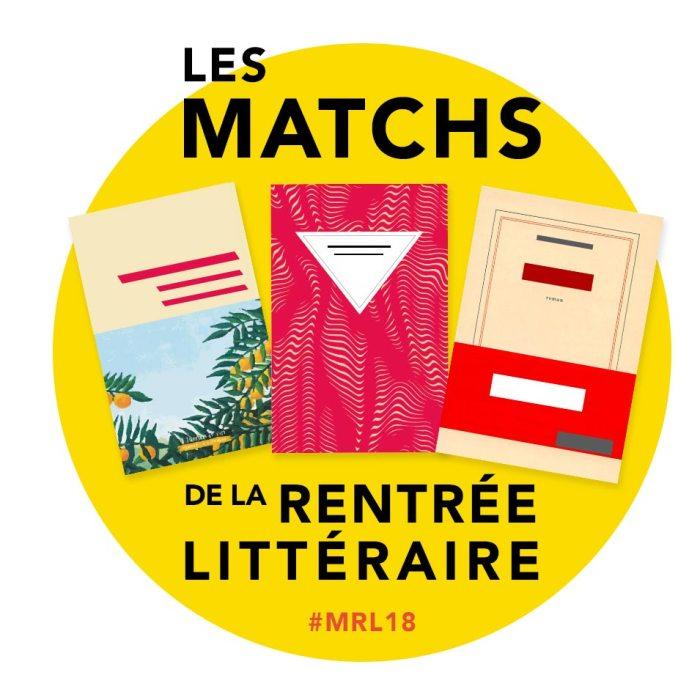 """Résultat de recherche d'images pour """"matchs de la rentrée littéraire 2018"""""""