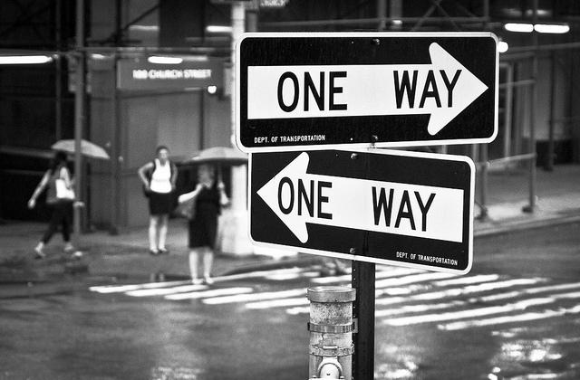 One Way by John Fraissinet