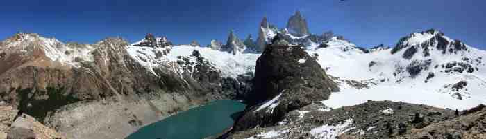 Lago de los Tres hike near El Chalten