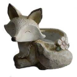 vaso da esterno volpe resina