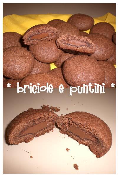 biscotti grisbi al cioccolato