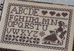 AMAP ricamo alfabeto
