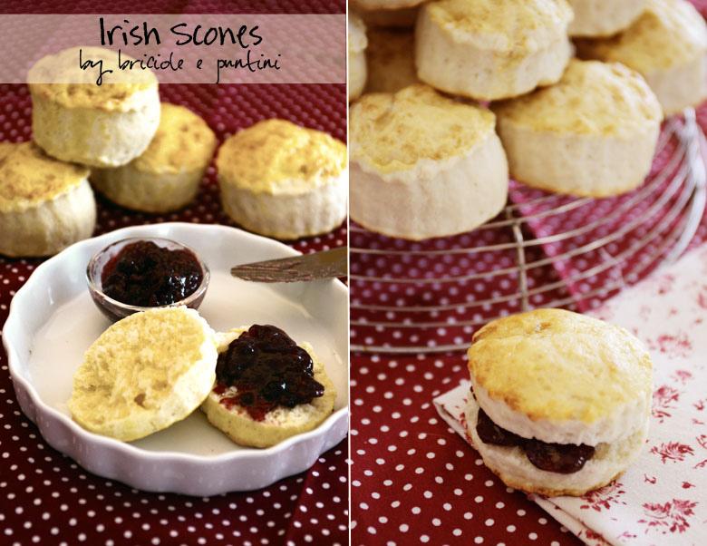 ricetta scones irlandesi