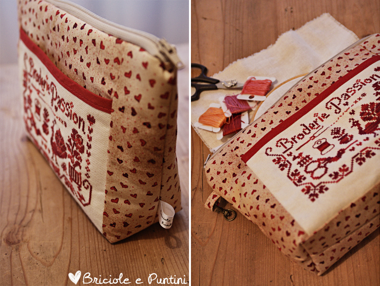 trousse Broderie Passion Jardin Privè