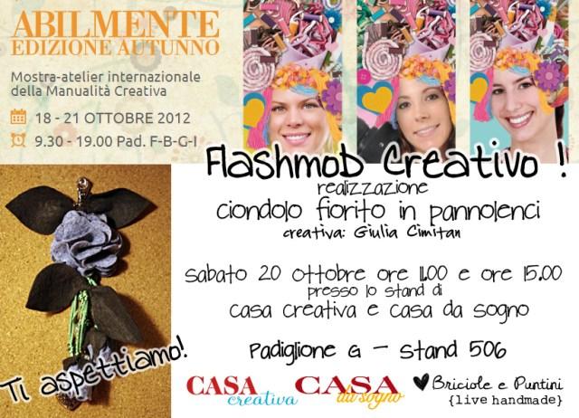 Abilmente Autunno 2012 - flashmob creativo