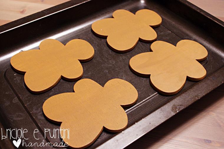 decorazioni natalizie fai da te: gingerbread in legno