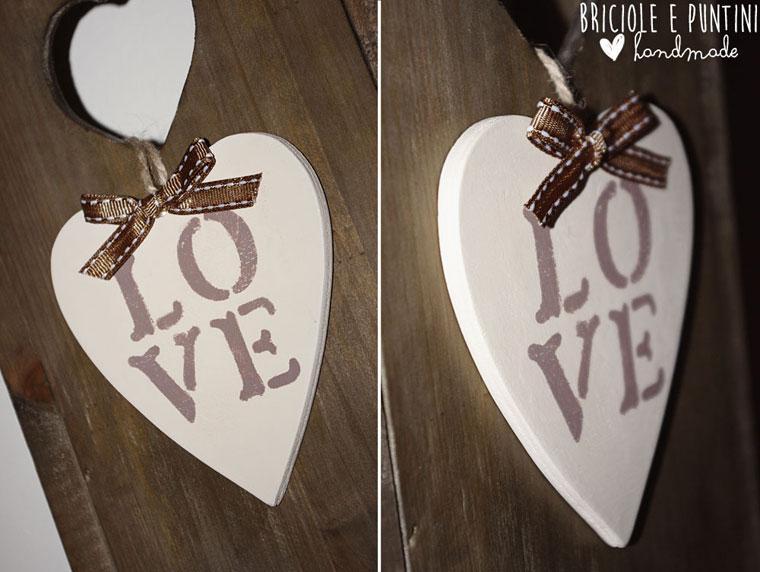 tutorial stencil fai da te per San Valentino