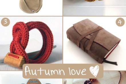 autumn inspirations DaWanda
