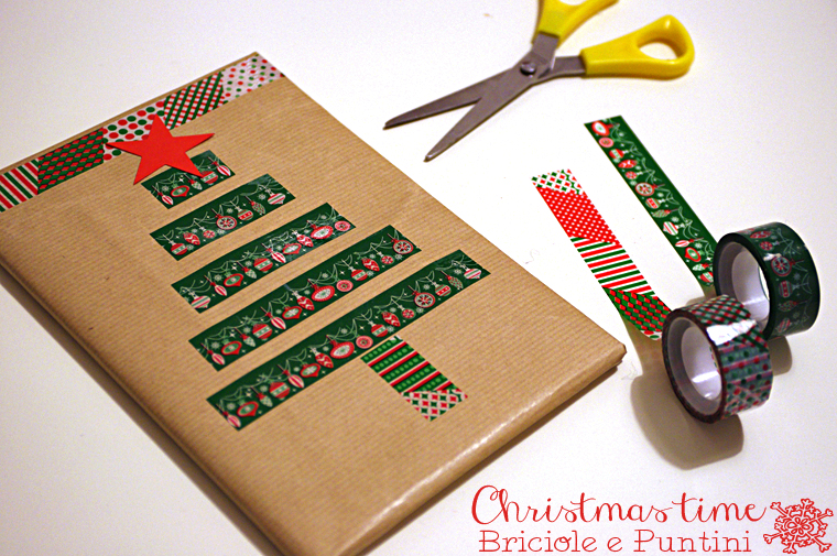 packaging con washi tape