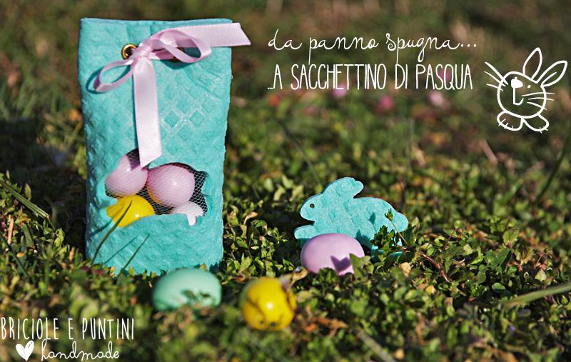 sacchettino di Pasqua fai da te