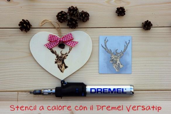 stencil a calore con Dremel Versatip