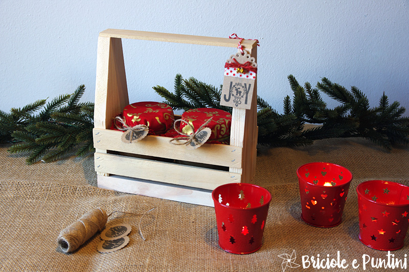 Regali fai da te toolbox in legno porta marmellate for Portabottiglie in legno fai da te