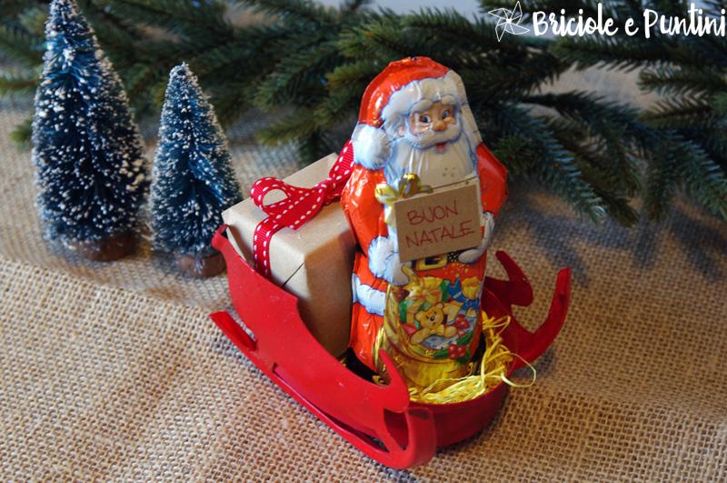 Slitta Di Babbo Natale Fai Da Te.Slitta Di Babbo Natale Con Le Scatole Del Formaggio Spalmabile