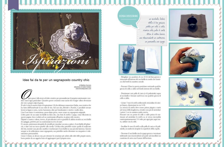 Briciole e Puntini - tutorial matrimonio su MiaSposa magazine