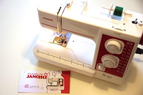 macchina da cucire Janome Sewist521