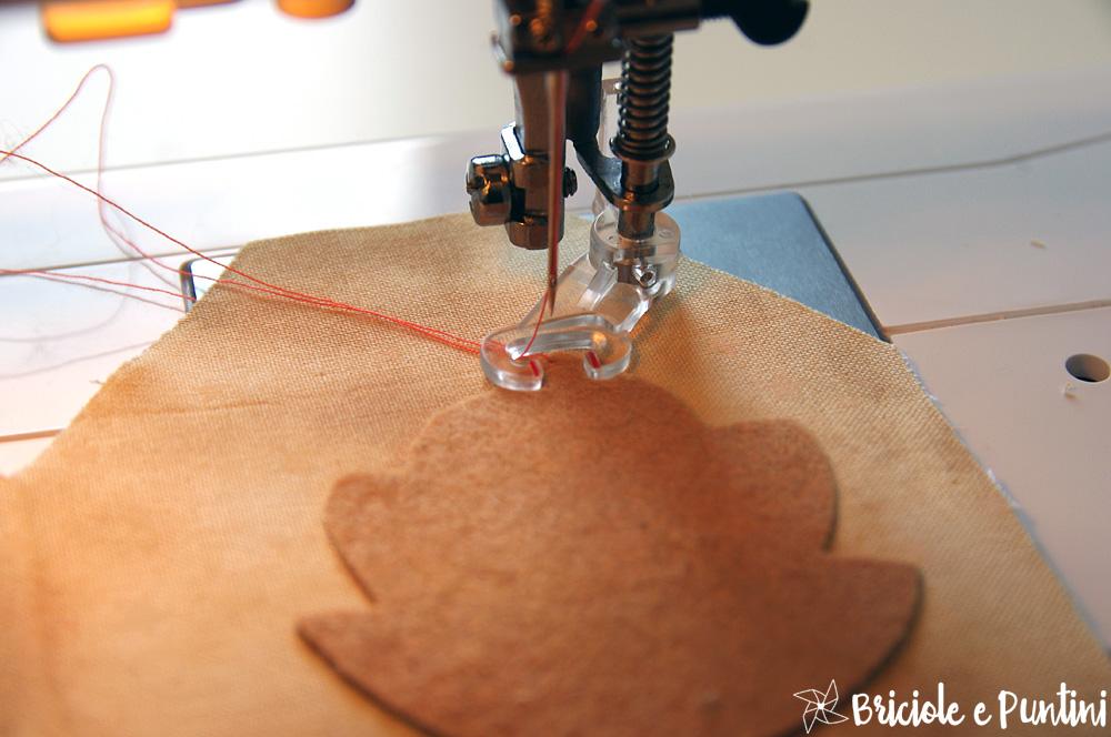 freehand machine embroidery - ricamo con macchina da cucire Janome