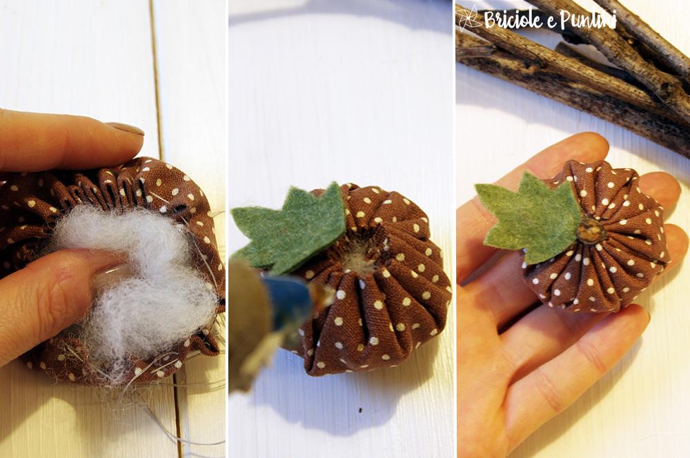 tutorial zucca di stoffa