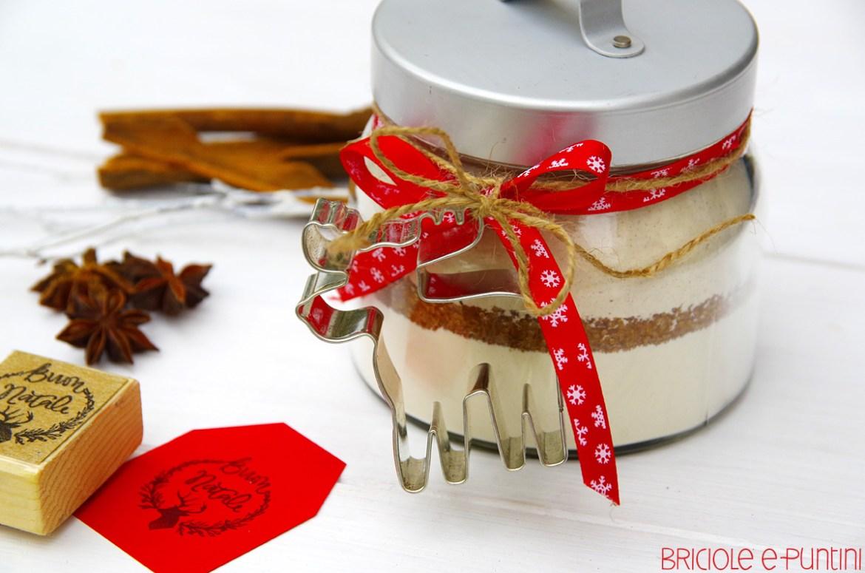 regali di Natale in barattolo - biscotti pandizenzero