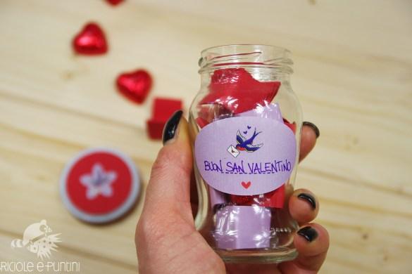 Wonder Vasetto - barattolo dei momenti per San Valentino