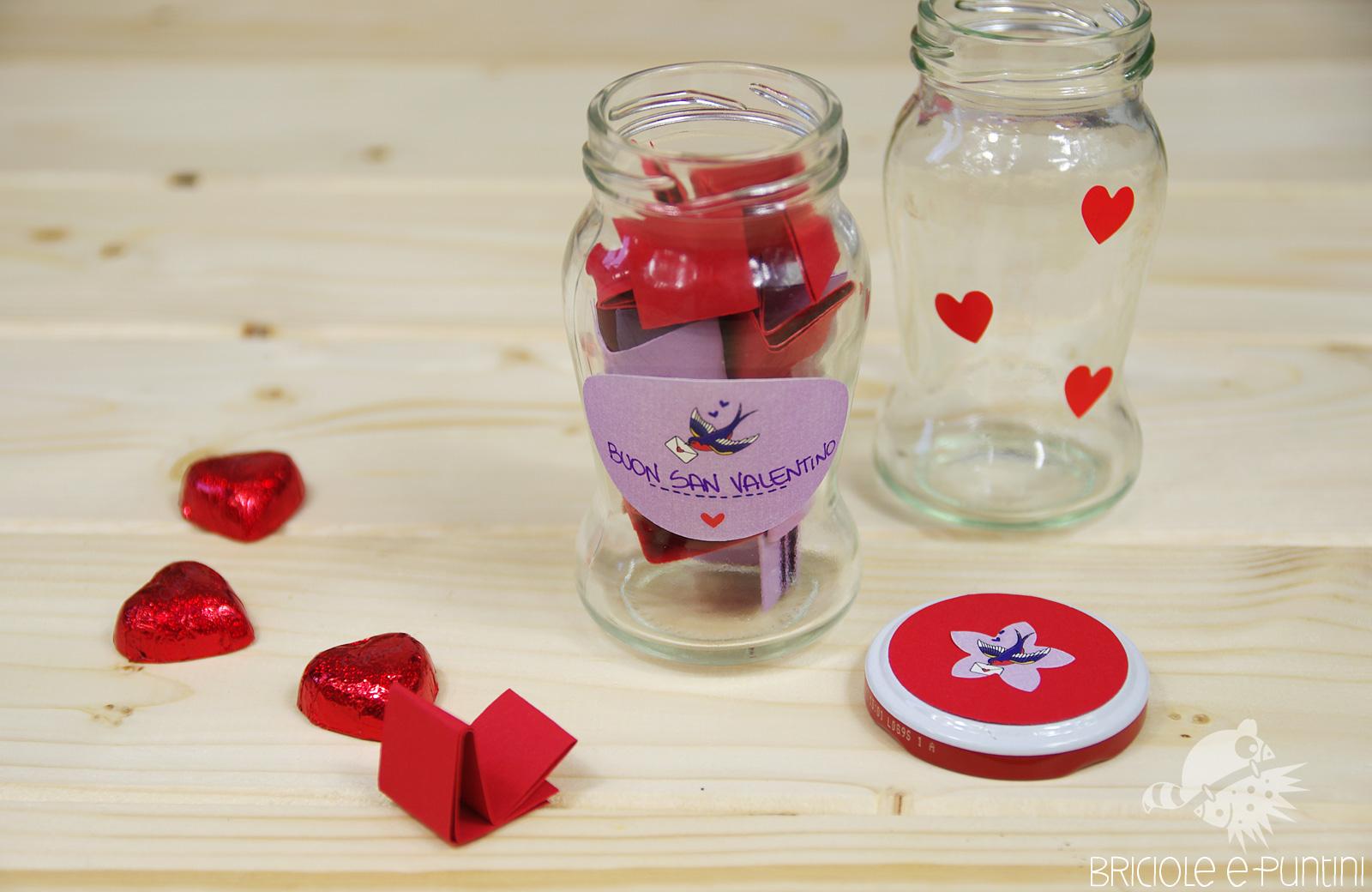 Bien connu Cosa regalare a San Valentino? Il barattolo dei momenti • Briciole  MM37