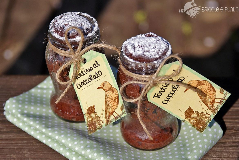 Wondervasetto - jar cake al microonde