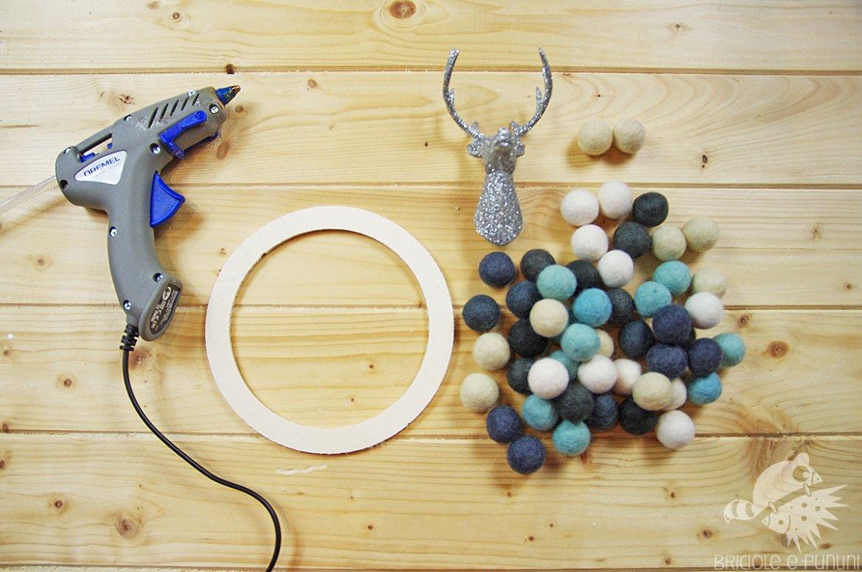 tutorial ghirlanda natalizia con taglio circolare dremel