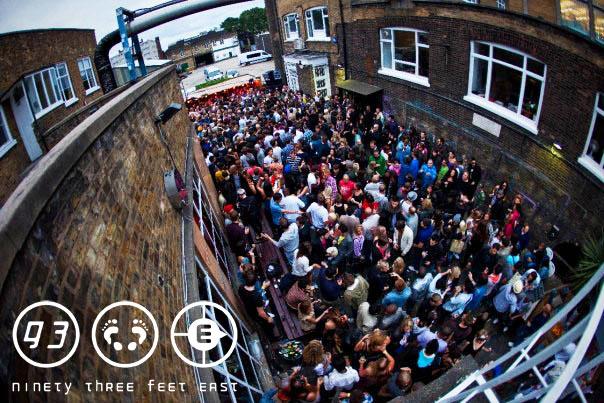 93 Feet East Bar Club in Brick Lane