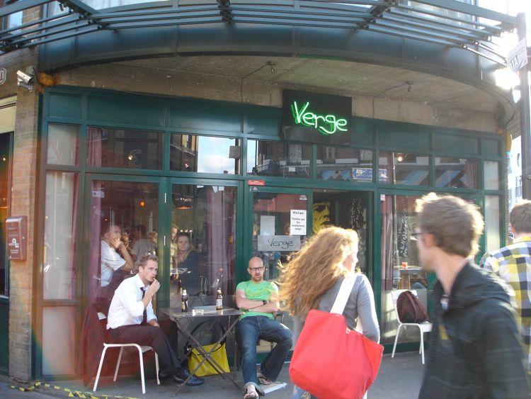 Verge Bar – 114-118 Bethnal Green Rd (End of Brick Lane)