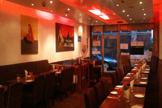 Aladin Restaurant in Brick Lane