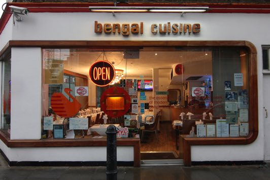 Bengal Cuisine Restaurant in Brick Lane