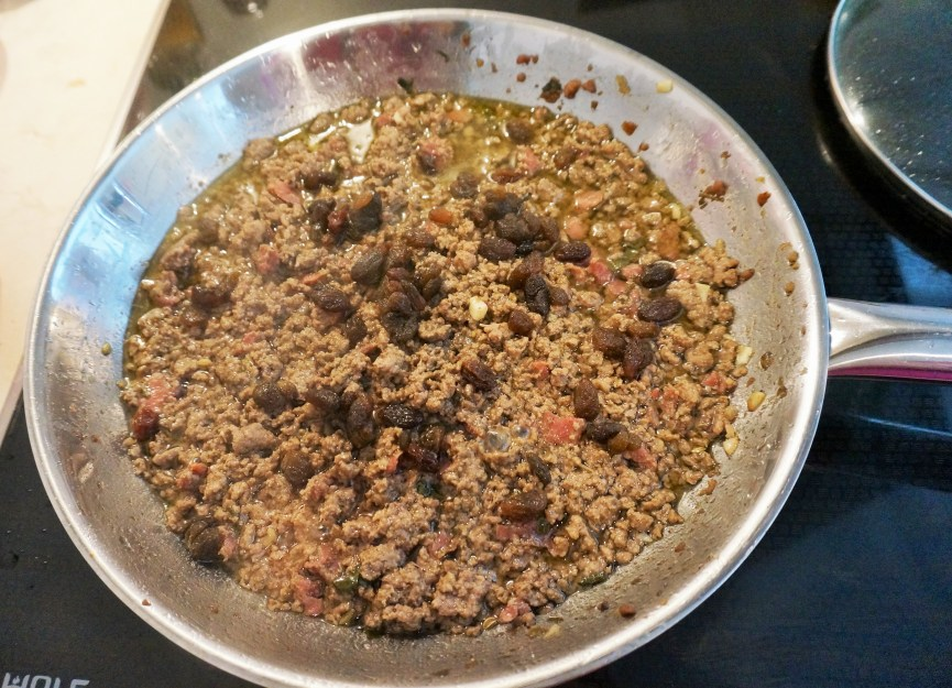Thanksgiving Recipe Miami Style Picadillo Gluten Free Stuffing Alternative