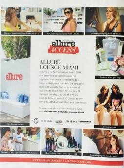 Seen in Allure Magazine