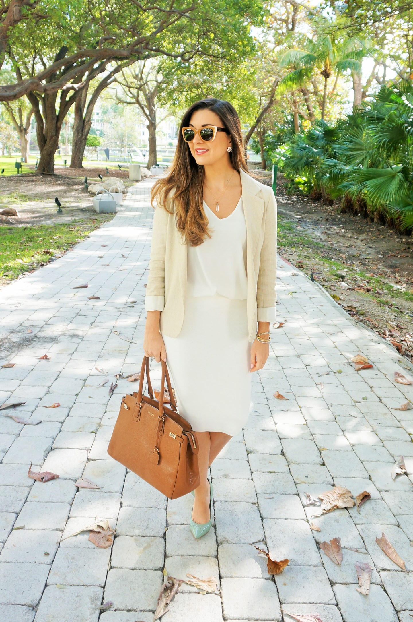 How to Rock Winter Whites at the Office All Year Round