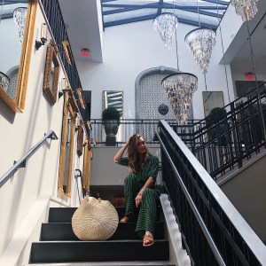 All Aboard! Traveling on the Brightline to Restoration Hardware in West Palm Beach