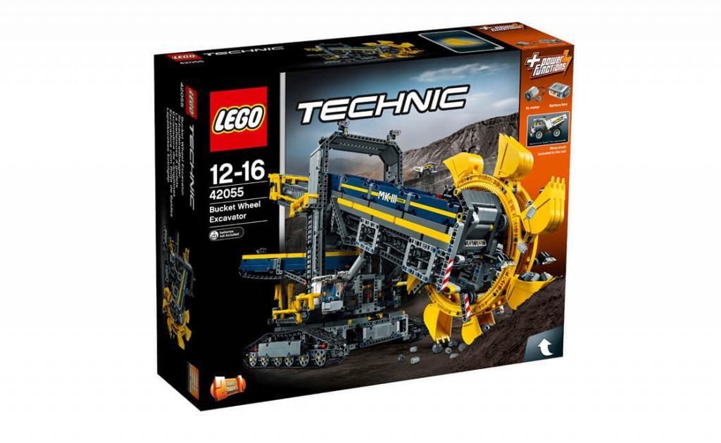 Lego Technic 42055 Bucket Wheel Excavator Gets 70 Cyber Monday Discount