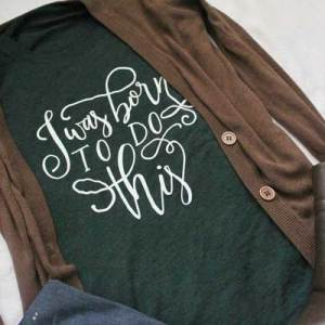 emerald green crewneck t-shirt