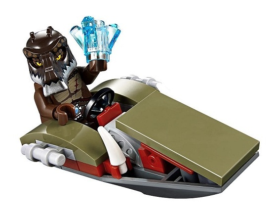 LEGO Chima 30252 Crug's Swamp Jet