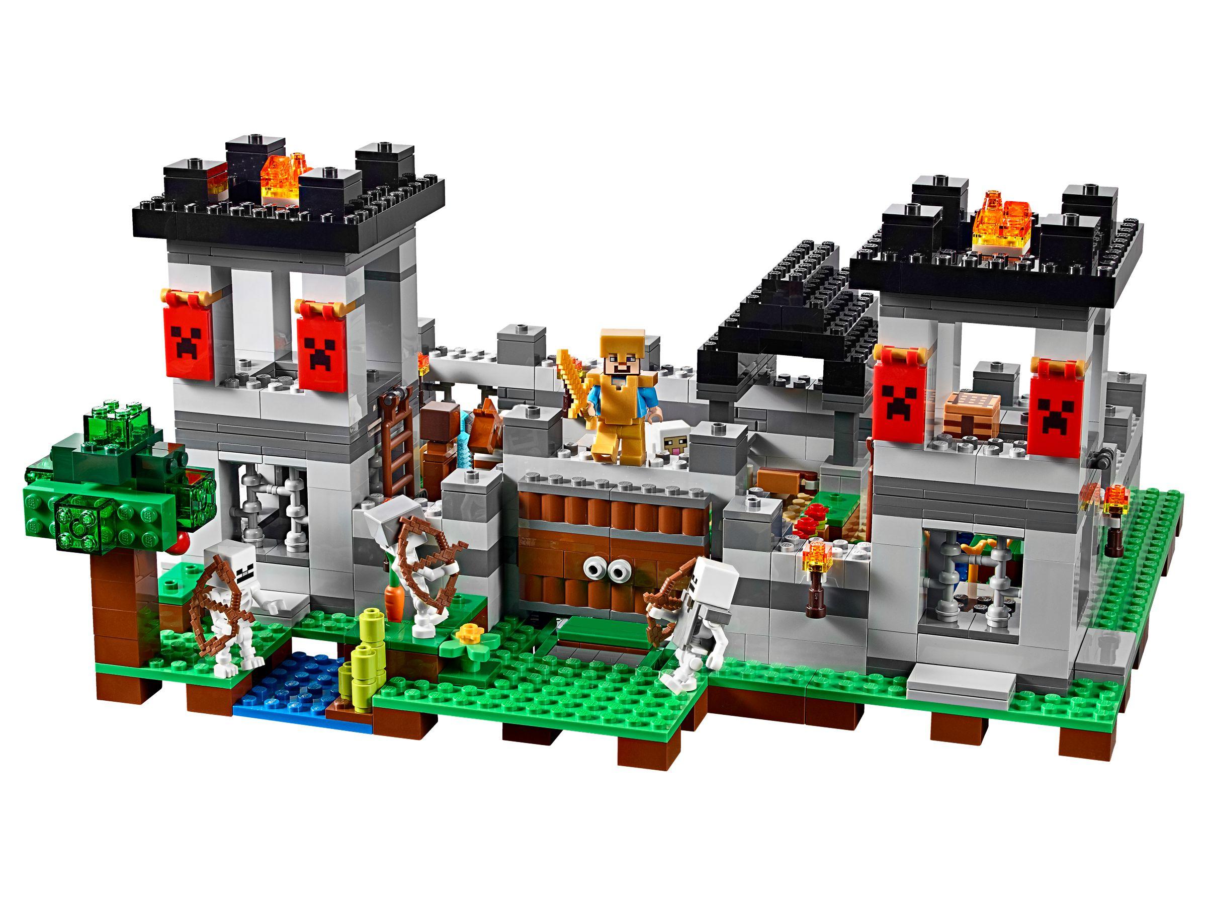 LEGO Minecraft 21127 Die Festung Brickmerge Preisvergleich