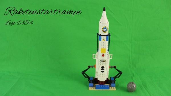 Lego 6454 - Raketenstartrampe