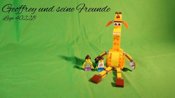 Lego 40228 - Geoffrey und seine Freunde