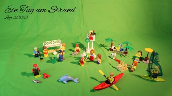 Lego 60153 - Ein Tag am Strand