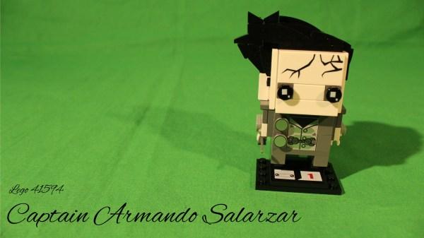 Lego 41594 - Captain Armando Salarzar