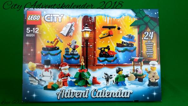 Lego 60201 - City Adventskalender 2018