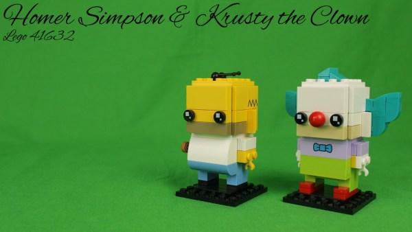 Lego 41632 - Homer & Krusty
