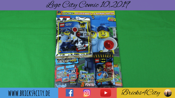 Lego City Comic 10|2019