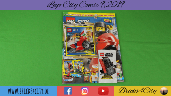 Lego City Comic 9|2019