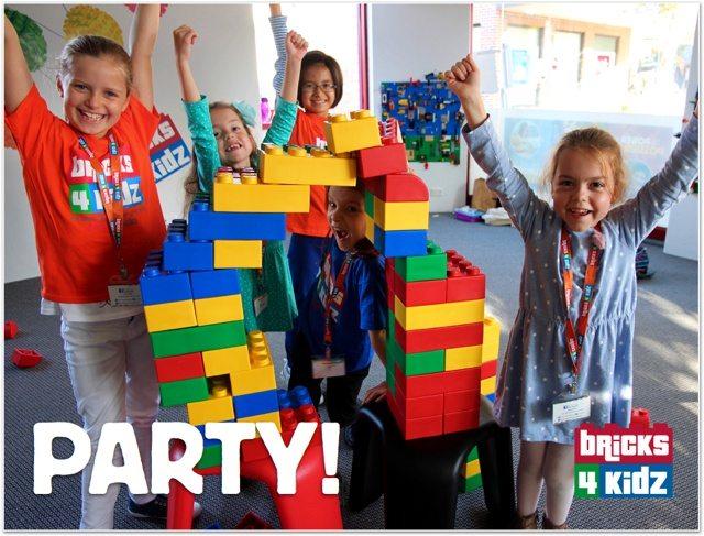 lego birthday party venue bricks 4
