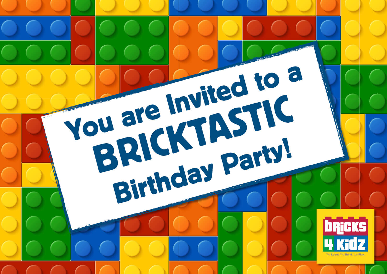 fun and customisable party invitations