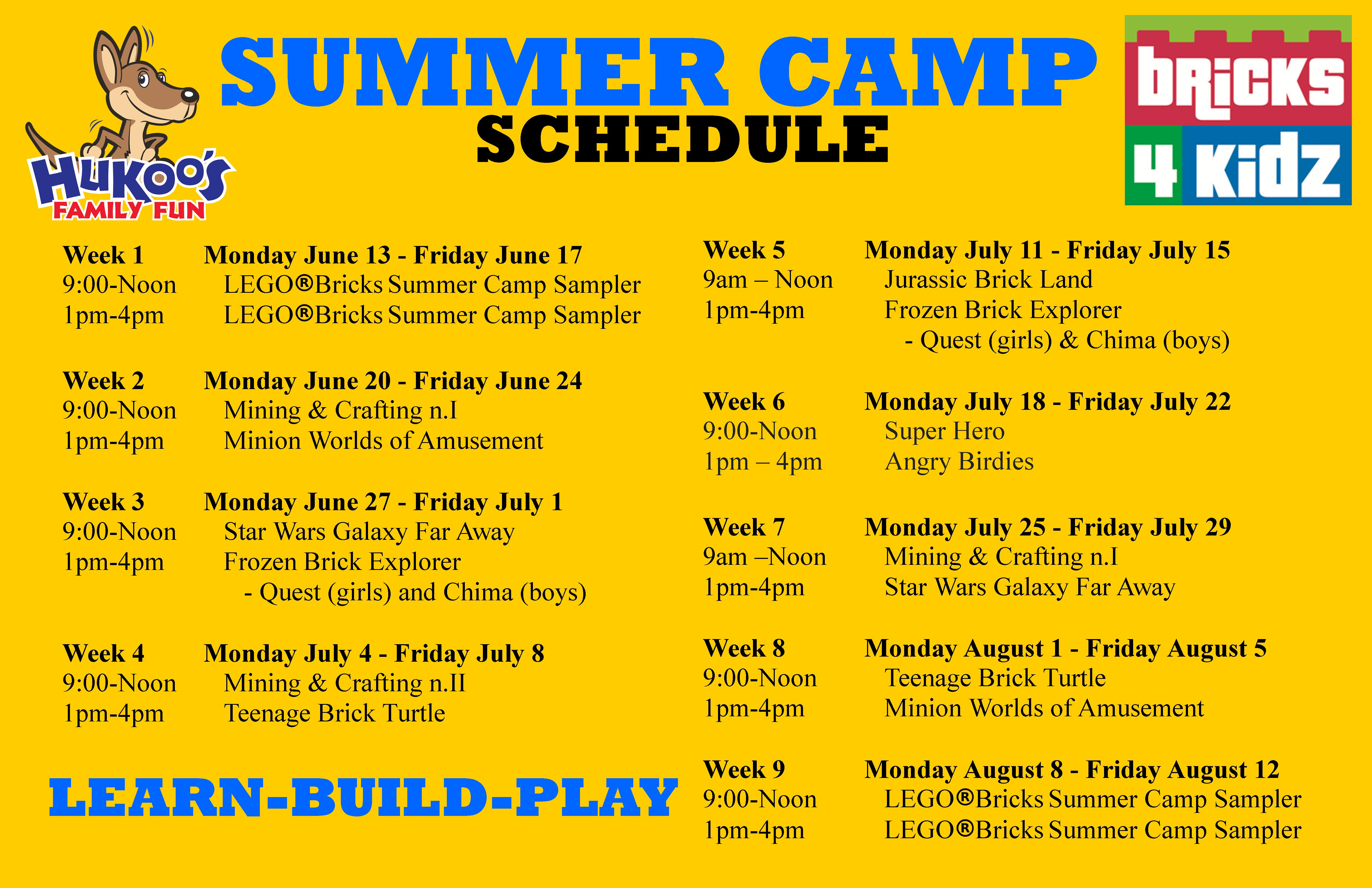 Overall Summer Camp Themes