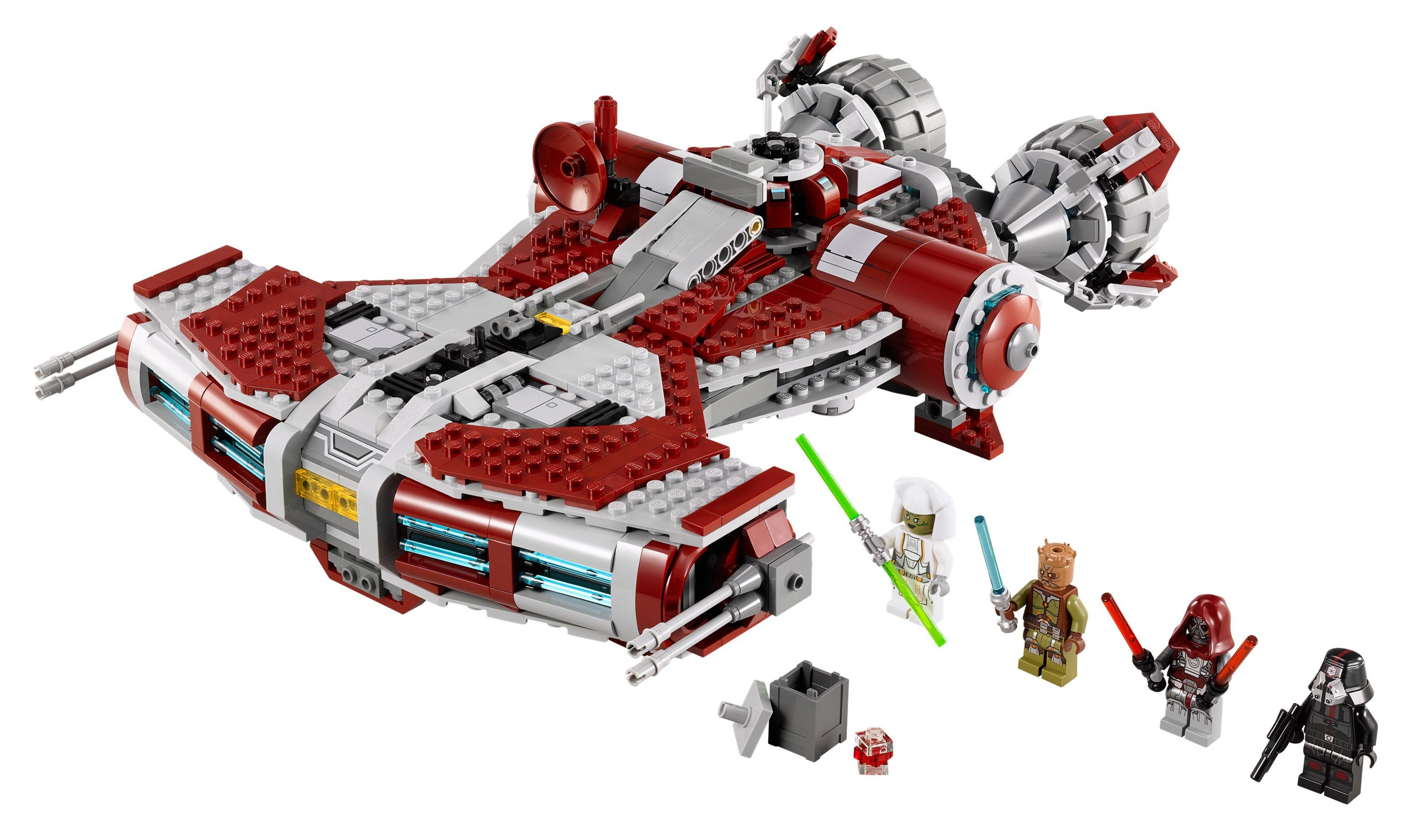 75025 lego star wars jedi defender class cruiser with the old republic